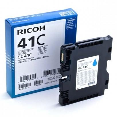 Gelová náplň Ricoh GC41HC modrá