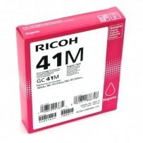 Gelová náplň Ricoh GC41HM červená