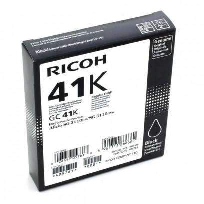 Gelová náplň Ricoh GC41HK černá