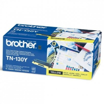 Brother originální toner TN130Y, yellow, 1500str., Brother HL-4040CN, 4050CDN, DCP-9040CN, 9045CDN, MFC-9440C