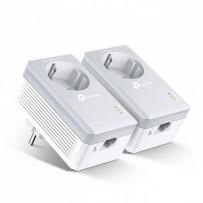 TP-LINK powerline (LAN přes 230V) TL-PA4010PKIT 600Mbps, elekrické zásuvky, až 300m, AES šifrování