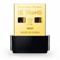 TP-LINK USB klient Archer T2U Nano 2.4GHz a 5GHz, 600Mbps, integrovaná anténa, 802.11ac, dual-band, nano design