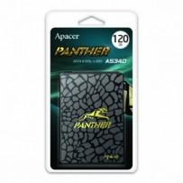 """SSD Apacer 2.5"""", SATA III, 120GB, GB, AS340, AP120GAS340G-1 černý, 500 MB/s,550 MB/s, Panther"""