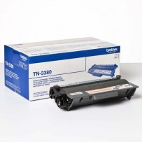 Brother originální toner TN3380, black, 8000str., Brother HL-5440D, HL-5450DN, HL-5470DW, HL-6180