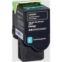 Toner Lexmark C2320C0 modrý