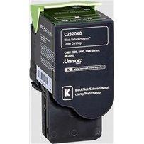 Toner Lexmark C2320K0 černý