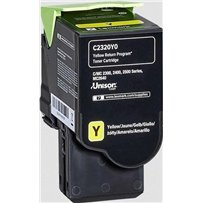 Toner Lexmark C2320Y0 žlutý