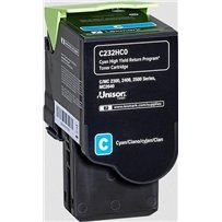Toner Lexmark C232HC0 modrý