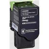 Toner Lexmark C232HK0 černý