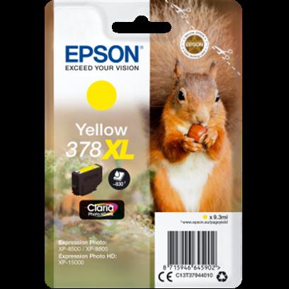 Epson 378XL žlutá