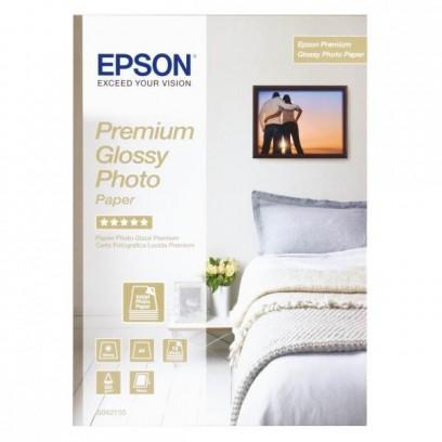 Epson Glossy Photo Paper, foto papír, lesklý, bílý, Stylus Color, Photo, Pro, A4, 255 g/m2, 15 ks, C13S042155, inkoustový