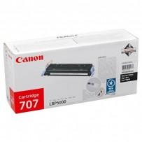 Canon originální toner CRG707, black, 2500str., 9424A004, Canon i-SENSYS LBP5000,5100,5101