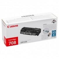 Canon originální toner CRG708, black, 2500str., 0266B002, Canon LBP-3300