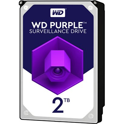 "Western Digital interní pevný disk, WD Purple, 3.5"", SATA III, 2TB, 2000GB, WD20PURZ"