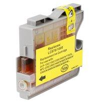 Kompatibilní Brother LC-970Y žlutá