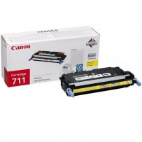 Canon originální toner CRG711, yellow, 6000str., 1657B002, Canon LBP-5300