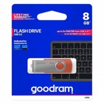 Goodram USB flash disk, 3.0, 8GB, UTS3, červený, UTS3-0080R0R11
