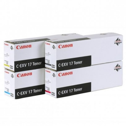 Canon originální toner CEXV17, black, 27000str., 0262B002, Canon iR-C4x80i