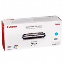 Canon originální toner CRG717, cyan, 4000str., 2577B002, Canon MF-8450