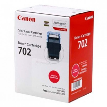 Canon originální toner CRG702, magenta, 10000str., 9643A004, Canon LBP-5960