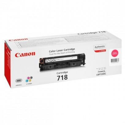 Toner Canon CRG-718 červený