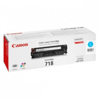 Toner Canon CRG-718 modrý