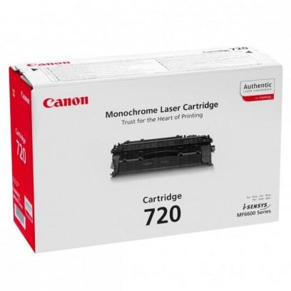 Canon originální toner CRG720, black, 5000str., 2617B002, Canon MF-6680
