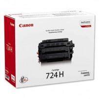 Canon originální toner CRG724H, black, 12500str., 3482B002, high capacity, Canon i-SENSYS LBP-6750dn
