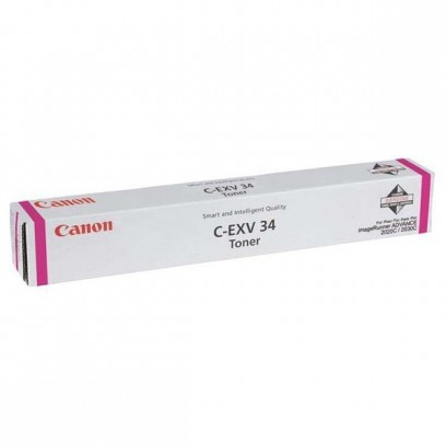 Canon originální toner CEXV34, magenta, 19000str., 3784B002,3784B003, Canon iR-C2020, 2030