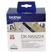 Brother papírová role bílá, 1 ks, DKN55224, pro tiskárny štítků