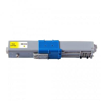 Kompatibilní toner OKI 46508709 žlutý