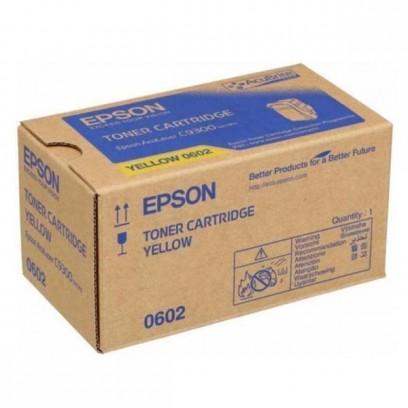 Epson originální toner C13S050602, yellow, 7500str., Epson Aculaser C9300N
