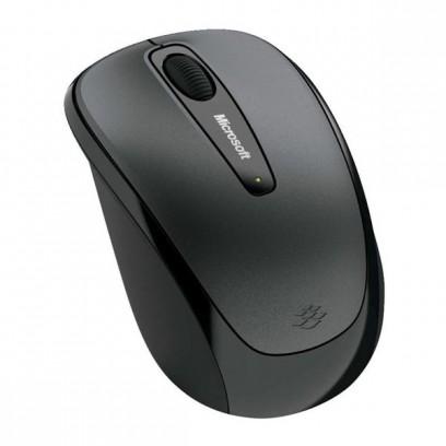 Microsoft Myš Mobile Mouse 3500, 1000DPI, 2.4 [GHz], optická, 3tl., 1 kolečko, bezdrátová, šedá, 1 ks AA, klasická, Microsoft...