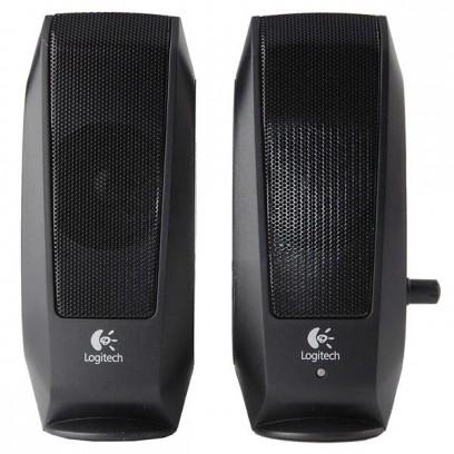 Logitech reproduktory S120, 2.0, 4,4W, černé, regulace hlasitosti, přenosné, 80Hz-20KHz