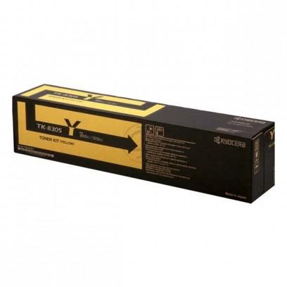 Kyocera originální toner TK8305Y, yellow, 15000str., 1T02LKANL0, Kyocera 3050Ci,3550Ci,3051ci