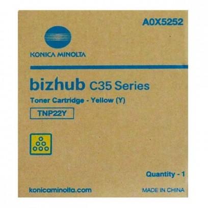 Konica Minolta originální toner A0X5252, yellow, 6000str., TNP22Y, Konica Minolta Bizhub C35, P
