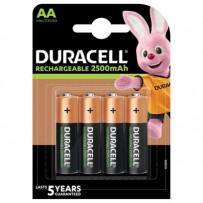 DURACELL Nabíjecí baterie tužková AA 2500 mAh 4 ks