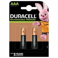 DURACELL Nabíjecí baterie mikrotužková AAA 900 mAh 2 ks