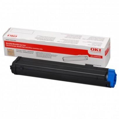 OKI originální toner 43502302, black, 3000str., OKI B4400, n, 4600, n, PS, nPS