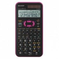 Sharp Kalkulačka EL-520XPK, černo-růžová, vědecká