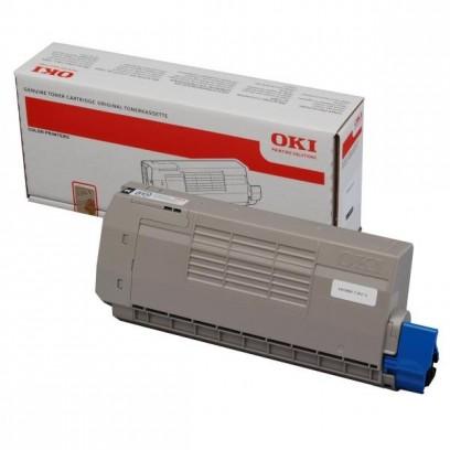 OKI originální toner 44318608, black, 11000str., OKI C710, C711