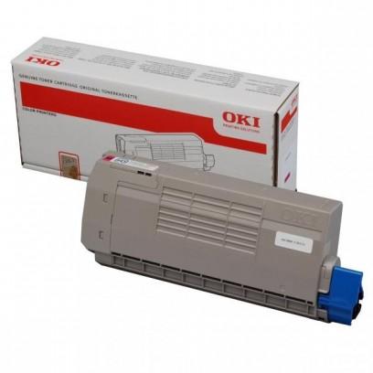 OKI originální toner 44318606, magenta, 11500str., OKI C710, C711