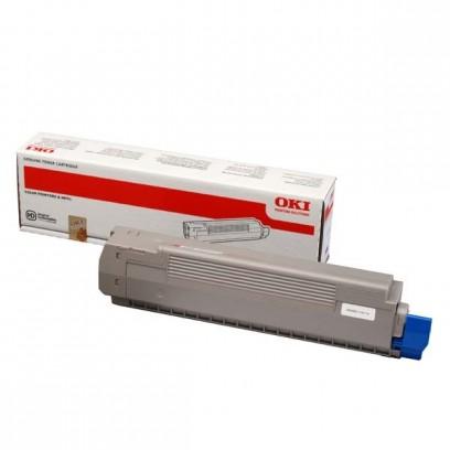 OKI originální toner 44643002, magenta, 7000str., OKI C801, C821