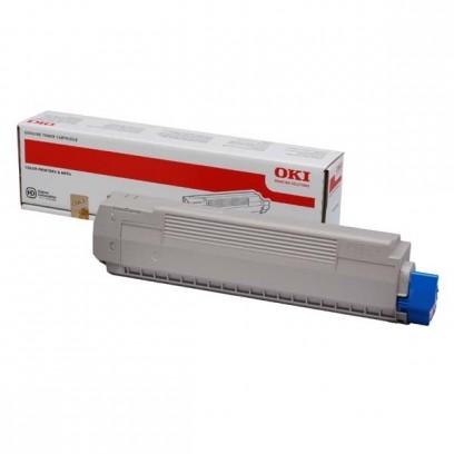 OKI originální toner 44059166, magenta, 7300str., OKI MC851, MC861