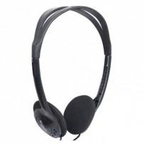 Defender Aura 101, sluchátka, ovládání hlasitosti, černá, otevřená, 3.5 mm jack
