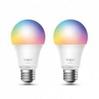 LED žárovka TP-LINK E27, 220-240V, 8.7W, 806lm, 6000k, RGB, 15000h, chytrá Wi-Fi žárovka, 2- pack