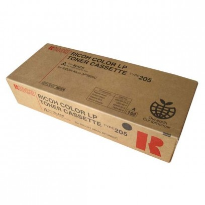 Ricoh originální toner 885406, black, 20000str., Typ 205, Ricoh Aficio AP 3800C, MF, CL 7000, MF, 550g