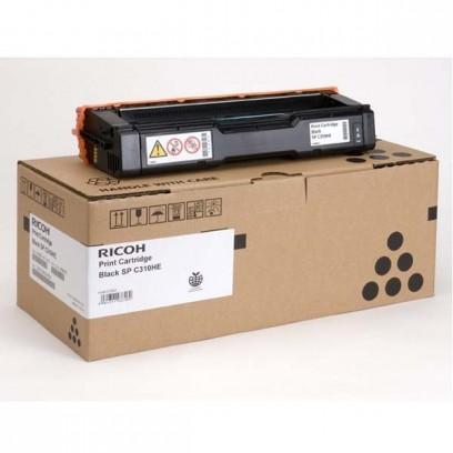 Ricoh originální toner 406479, 407634, black, 6500str., Ricoh SP C310, C311, C312, SP C231, C232