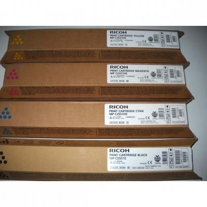 Ricoh originální toner 841505, 842064, cyan, 9500str., Ricoh MPC2551, 2551SP, 2031, 2051, 2531