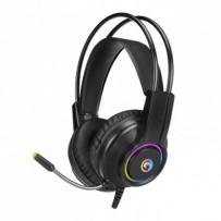 Marvo HG8935, sluchátka s mikrofonem, ovládání hlasitosti, černá, podsvícená, USB